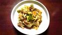 白菜と油あげの卵とじ