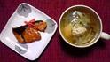 ブリの照り焼き&鶏団子汁